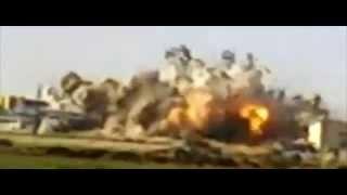 شاهد فيديو ضرب الطيران المصرى لتنظيم داعش فى ليبيا