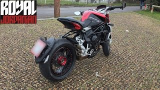 MV Agusta Brutale Dragster 800 RR, walk around, start and short ride thumbnail