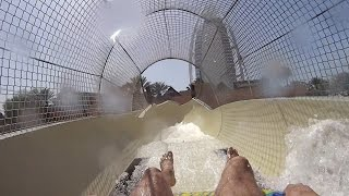 Long Water Slide at Wild Wadi Waterpark