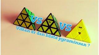moyu pyraminx vs qiyi pyraminx vs shengshou pyraminx svenska