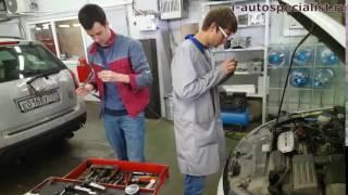 1 4 TSI VW Проверка состояния свечей зажигания и компрессии на двигателе