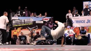 La Smala vs Melting Force | Demi Finale| Battle de Meaux 2011