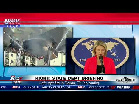 STATE DEPT: Thursday briefing with Heather Nauert (FNN)