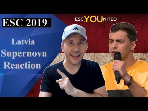 Supernova 2019 - Songs Reaction (Latvia Eurovision 2019)