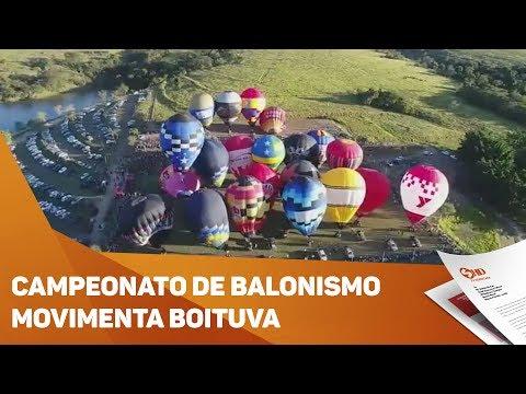 Campeonato de balonismo movimenta Boituva - TV SOROCABA/SBT