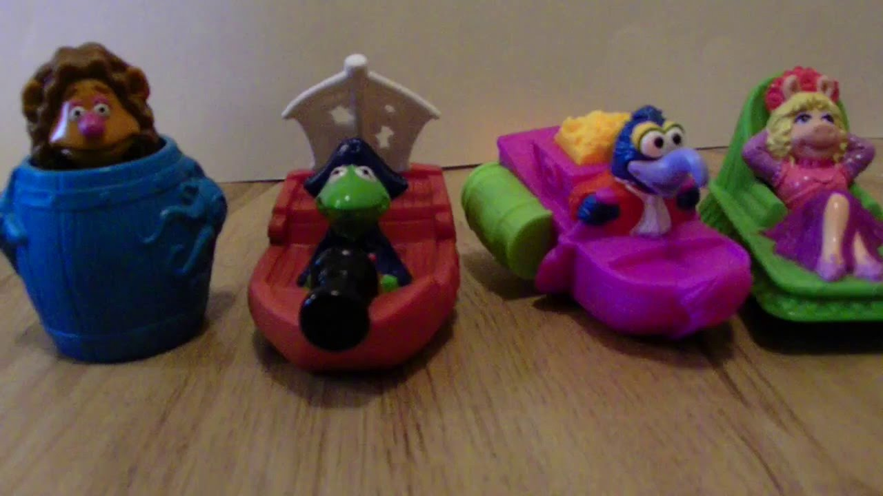 Treasure Island Mcdonalds Toys