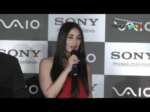 Kareena Kapoor Launches the New Range Of 'Sony Vaio'