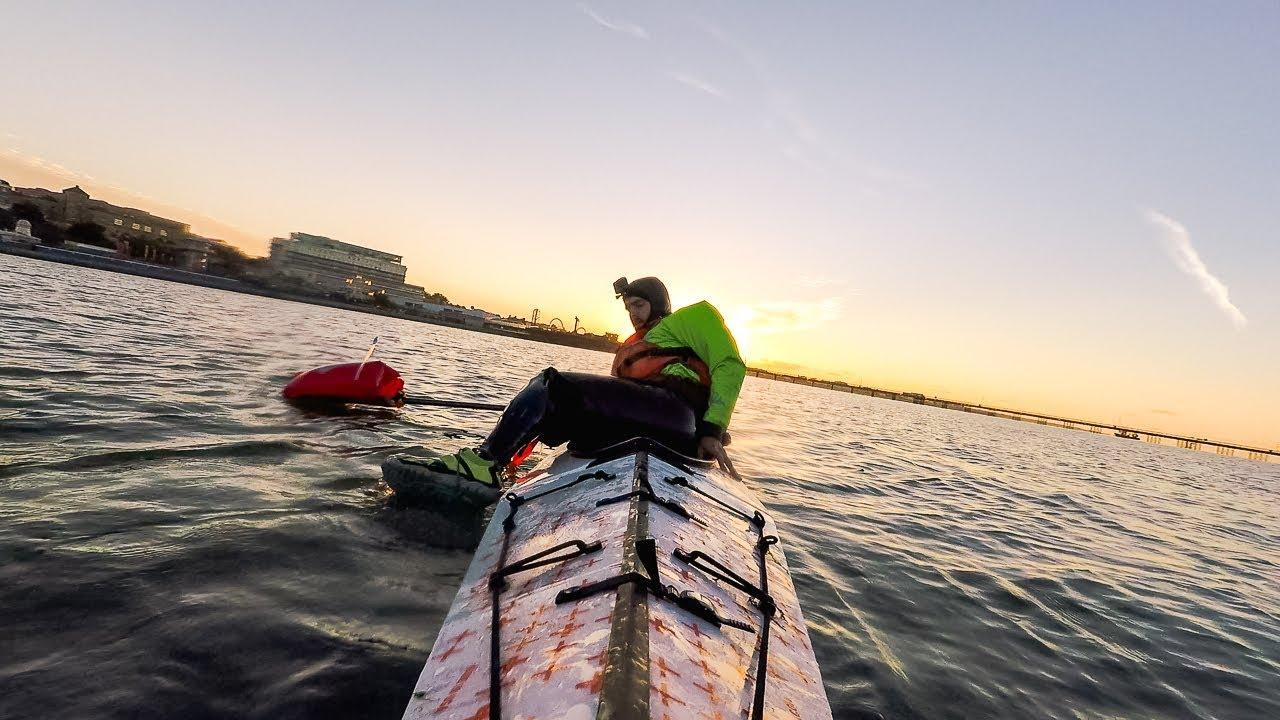 Heel Hook Paddle Float Self Rescue with the Oru Kayak Bay+