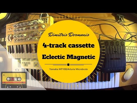 Yamaha 4-track cassette recorder | Eclectic Magnetic I Dimitris Dermanis