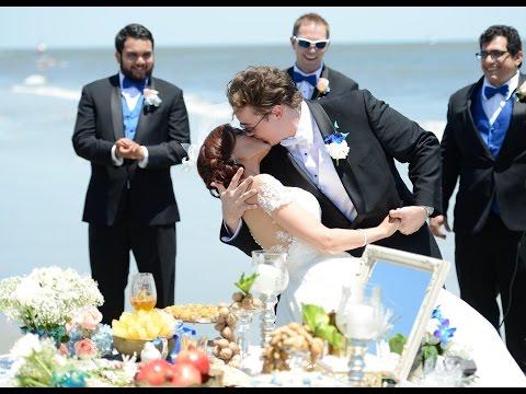 Romantic Persian-American Beach Wedding - Sahar & Howell - Saint Simons Island, GA
