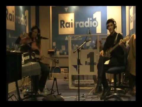 PIVIRAMA @ RADIO 1 RAI, DEMO in concert - live unplugged
