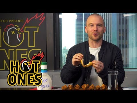 How to Eat a Chicken Wing | Hot Ones Extra