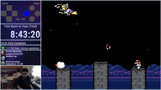 Invictus Boss Cleared (Extremely Difficult Super Mario World Hack by juzcook)