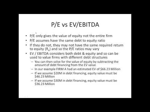 08 Comparable Approach to Equity Valuation