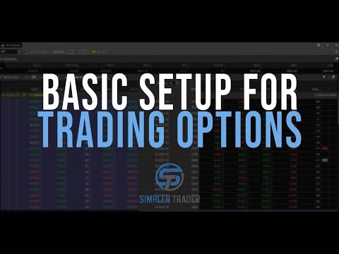 Basic Setup For Trading Options Part I - ThinkOrSwim Tutorial