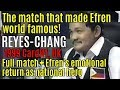 Reyes vs Hao Ping Chang, World 9-Ball Championship 1999 FINALS