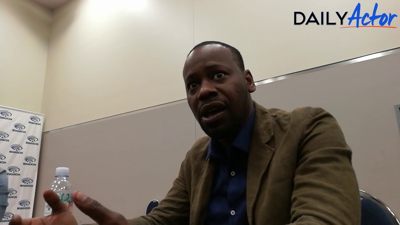 WonderCon Interview Malcolm Barrett From NBCs Timeless Daily Actor