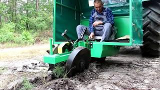 Leśna sadzarka łapkowa SZ | Forest transplanter SZ