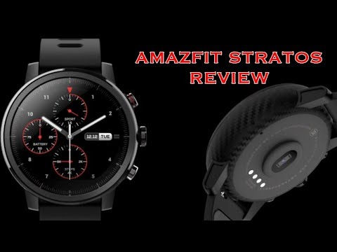 Amazfit Stratos Multi Sport GPS Smartwatch Review