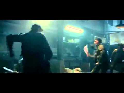 The Expendables 2 - Jet Li fight scene