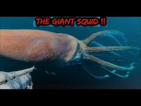 Survival Island 23:  Quái vật Mực khổng lồ the Gaint Squid