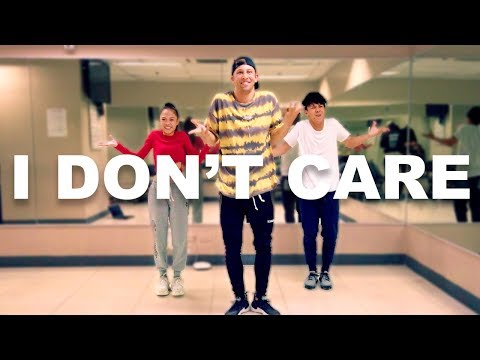 """I DON'T CARE""  Justin Bieber & Ed Sheeran 10 Minute Dance Challenge W/ Kenny & AC"