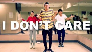 "Baixar ""I DON'T CARE""  Justin Bieber & Ed Sheeran 10 Minute Dance Challenge w/ Kenny & AC"