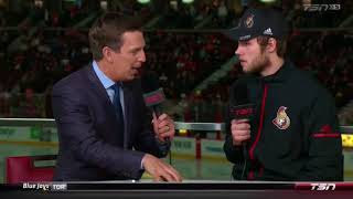 Filip Gustavsson - TSN Interview (March 22, 2018)