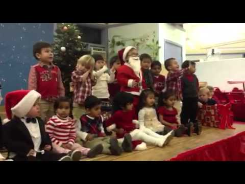 Delor Montessori holiday party 2012