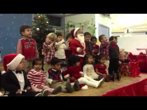 Delor Montessori holiday party 2012