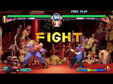 The KO #34 - PS4 Street Fighter III: 2nd Impact's awesome widescreen mode!
