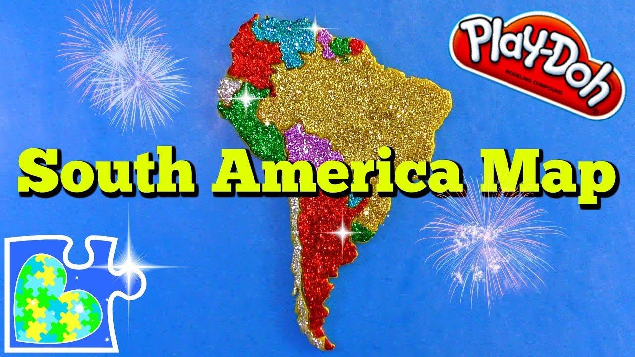 America South America Map