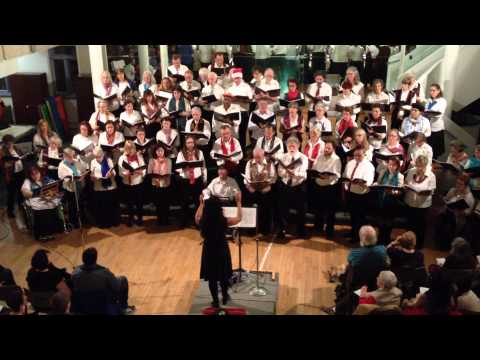 To My Old Brown Earth by Pete Seeger - performed by Common Thread Chorus in Toronto, Canada