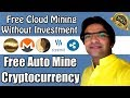 Free Cloud Mining Without Investment 100% Paying Website | Auto Mine Cryptocurrency