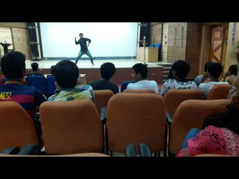 JHANKAAR, UMANGG'16, NIT Trichy - Solo Dance winning performance by Shubham Dubey, MCA