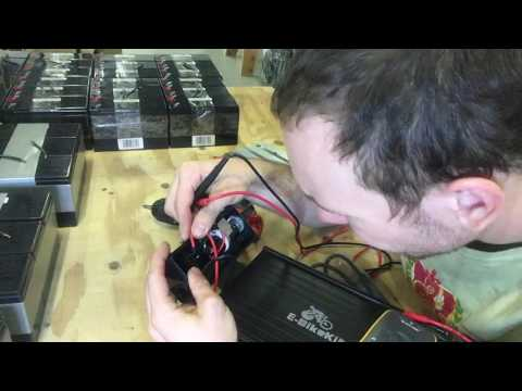Lithium battery test points