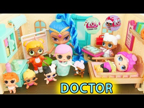 LOL Surprise Dolls + Lil Sisters at Toy Doctor