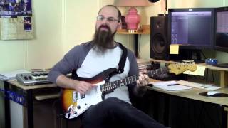 """Gambar cover How To Play Blues Rhythm Guitar Using """"Core Tritones"""" [Music Theory For Guitar]"""