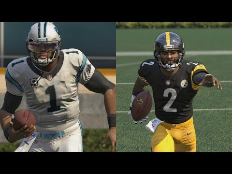 WHO CAN SCORE A 99YD SCRAMBLE TD?!? CAM NEWTON OR MICHAEL VICK?!? MADDEN 16 CHALLENGE #2