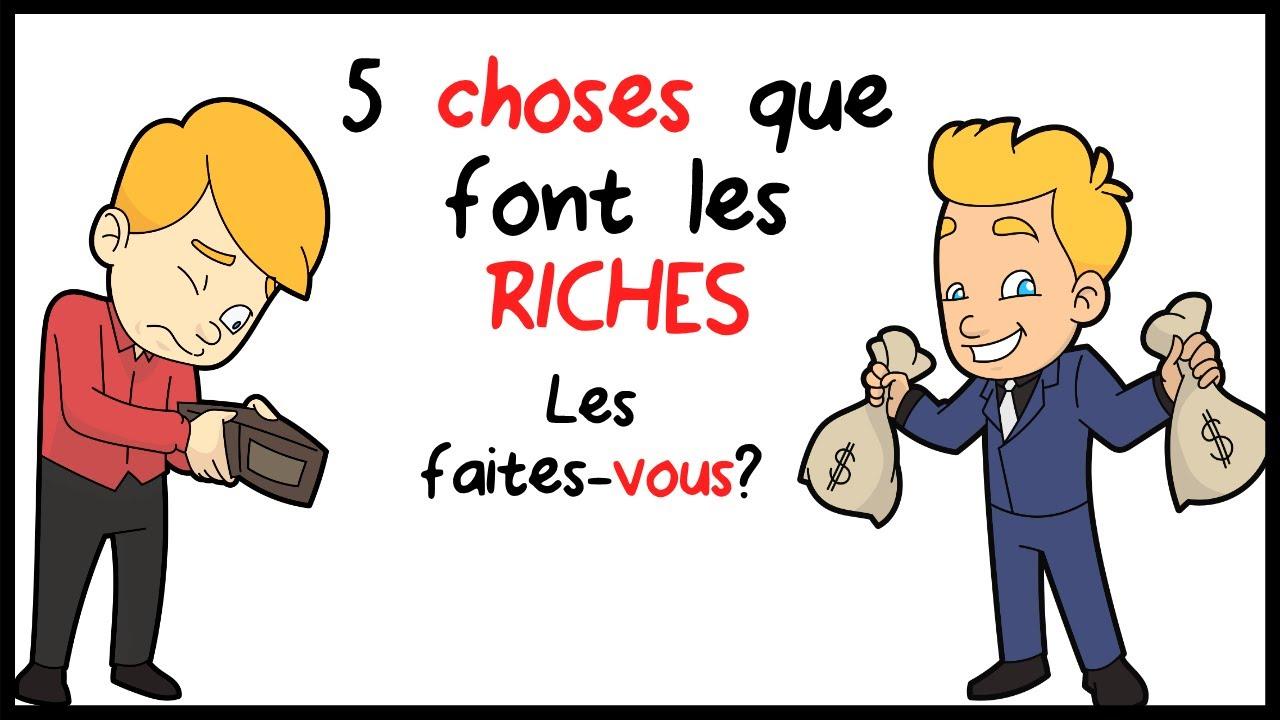 Comment les riches font les choses
