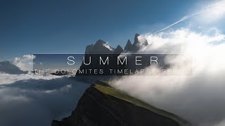 SUMMER | DOLOMITES 8K TIMELAPSE