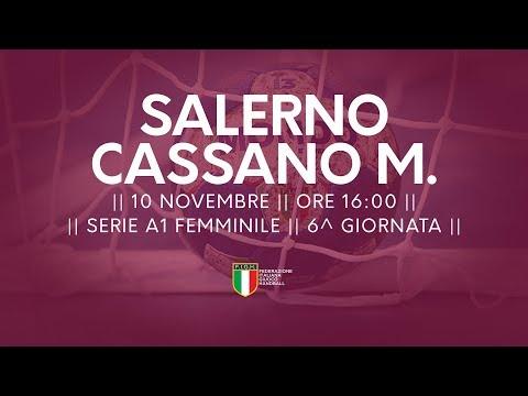 Serie A1F [6^]: Salerno - Cassano Magnago 27-30