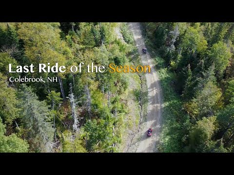 Last Ride of the Season: ATVing in Colebrook, NH