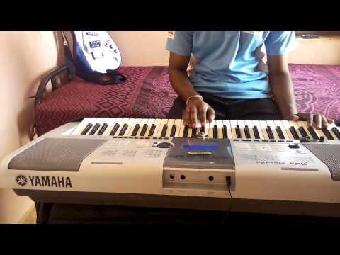 Nacheli rojave song on piano with original back ground score.