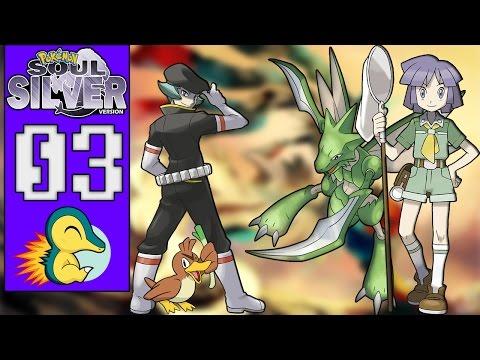 Pokémon Soul Silver #03 - O PODER DOS INSETOS DE BUGSY/HM01 CUT (1080p/2016)