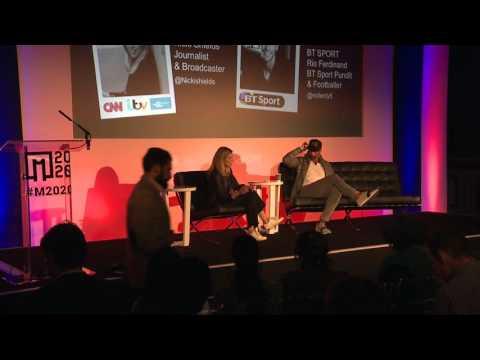 M2020 London 2016 - Keynote - Rio Ferdinand Interview