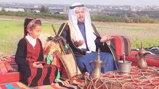#حصري /دحية صقر بن خماش وابنته جازيه ||قصة الشايب راعي الشبريه||2021جديده