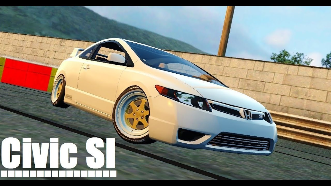 LFS   Honda Civic SI 2006 Mod EDIT#DaddyMods Live For Speed Pro