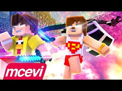 K'CILAR BURAYA - Minecraft Animasyon Türkçe Şarkı