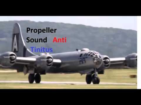 Airplane engine- Propeller Sound Anti Tinnitus